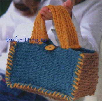 Бесплатные схемы вязания сумок
