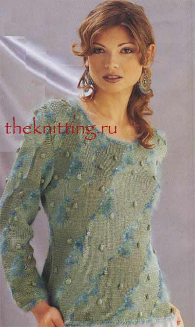 Вязаные свитера спицами - Доска