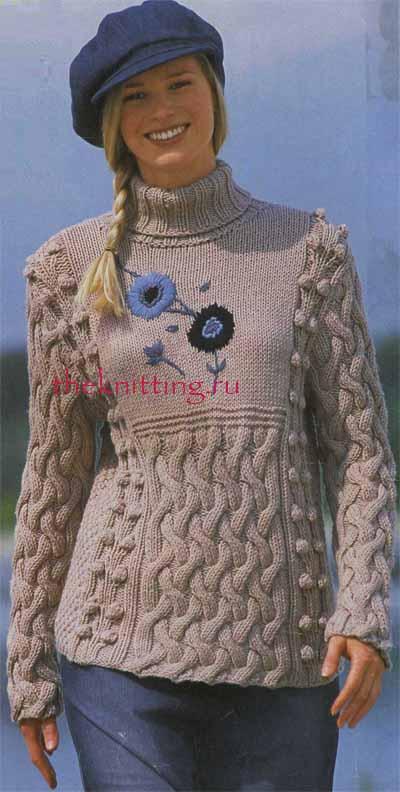 Полуверы схемы вязания