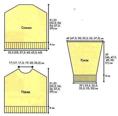 Комментарий: кофта с вырезом вязаная спицами схема.