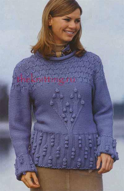 Схемы вязания женских
