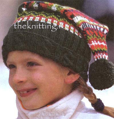 Вязание детских зимних шапок