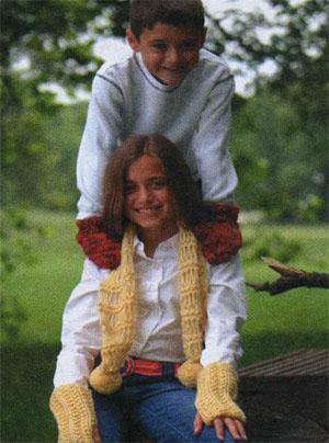 Вязание узор косы