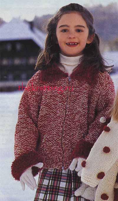 Детское вязание для девочек Вязание