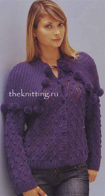 Вязание женских кофт