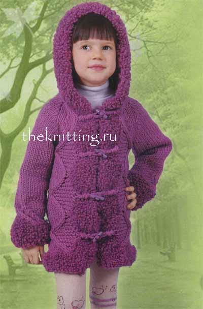 Вязаные пальто для детей (38 фото ) -
