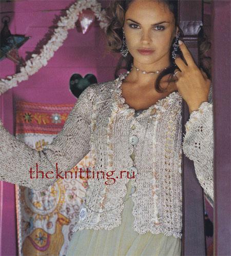 О моде: модные вязаные кофты 2012 - Фото показы мод