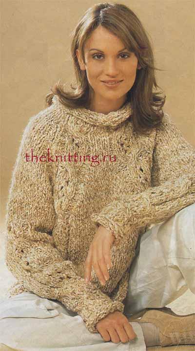 Кофта реглан с эффектом запаха раздел спицами пуловеры, кофты схемы спицами.  Свитер-реглан для мальчика.