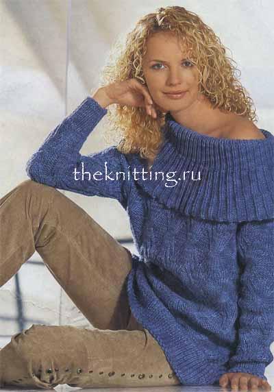 Вязанные свитера женские
