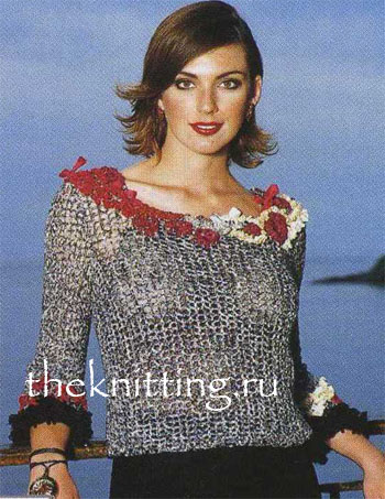 На фото: Вязанные свитера кофты